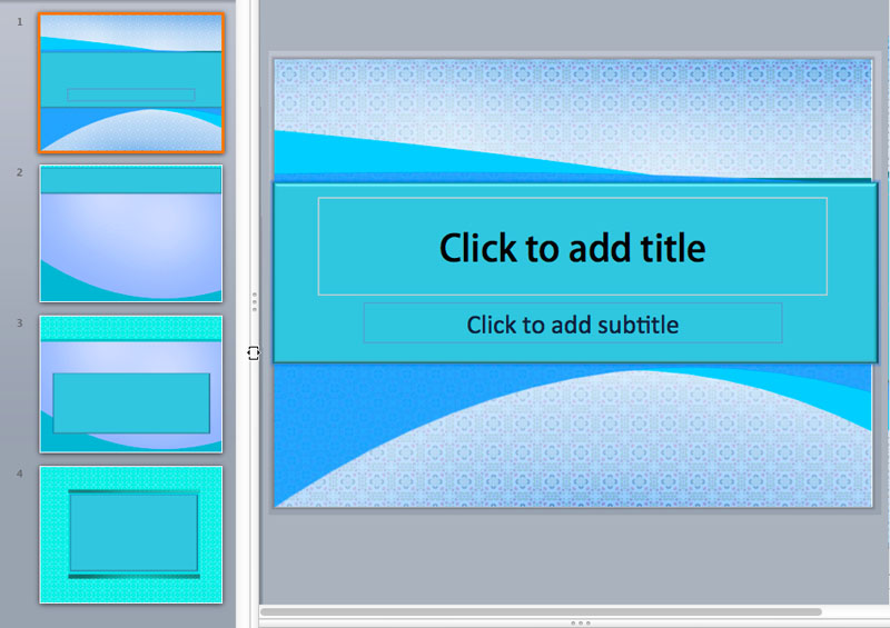 Textured PowerPoint Templates
