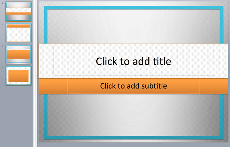 simple border powerpoint templates