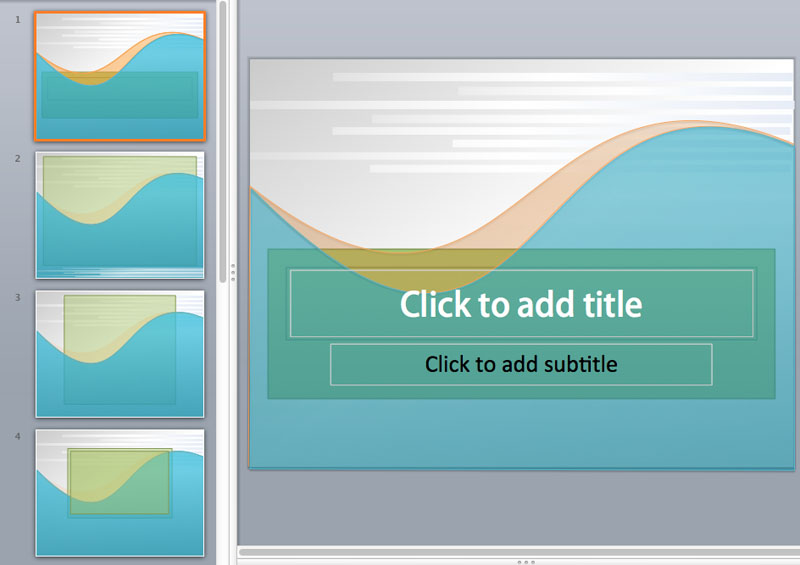 simple powerpoint templates