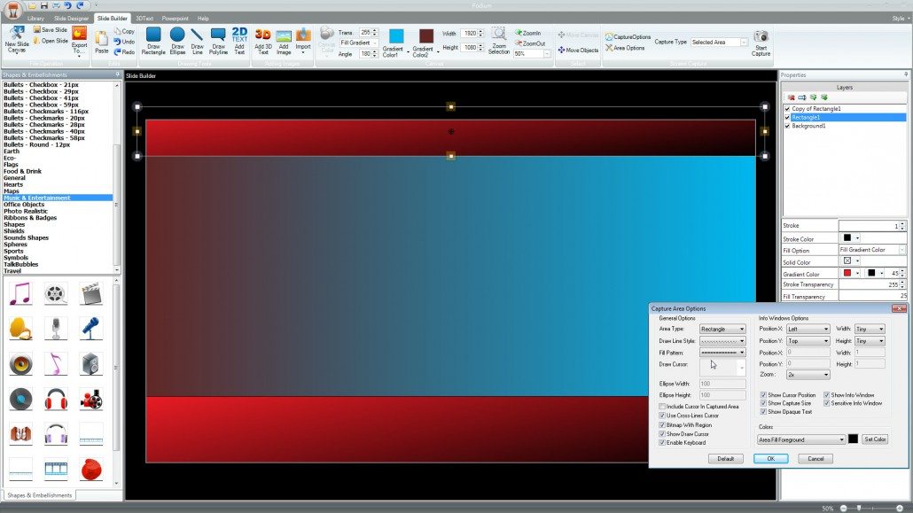 Powerpoint screen capture