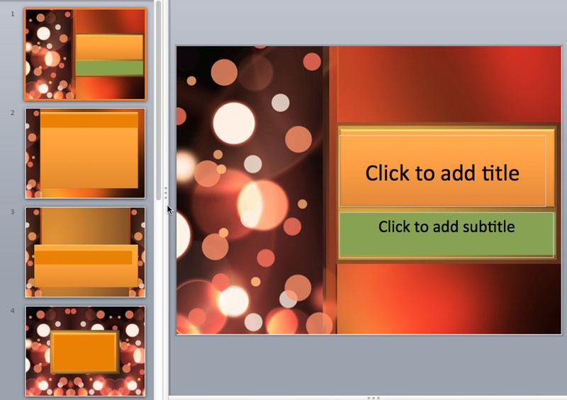 light dot powerpoint templates