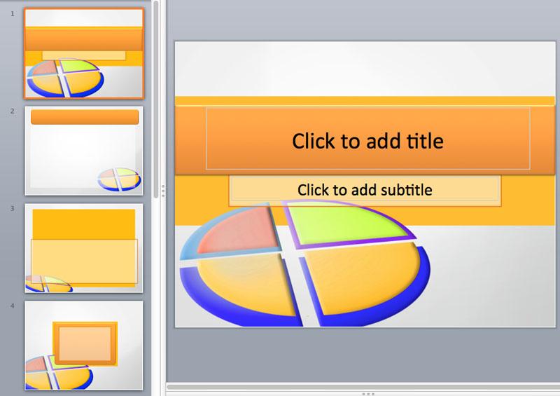 powerpoint pie chart templates