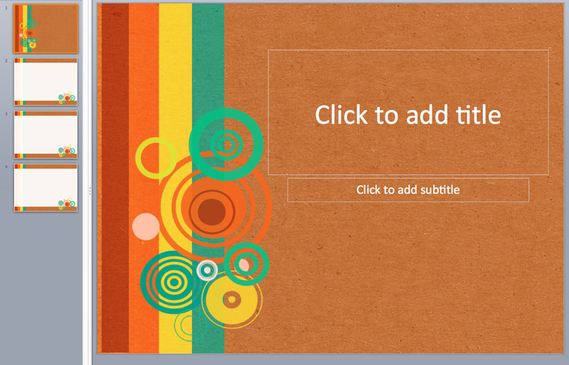 textured graphic ppt templates