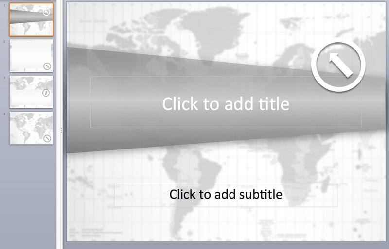 world map powerpoint templates