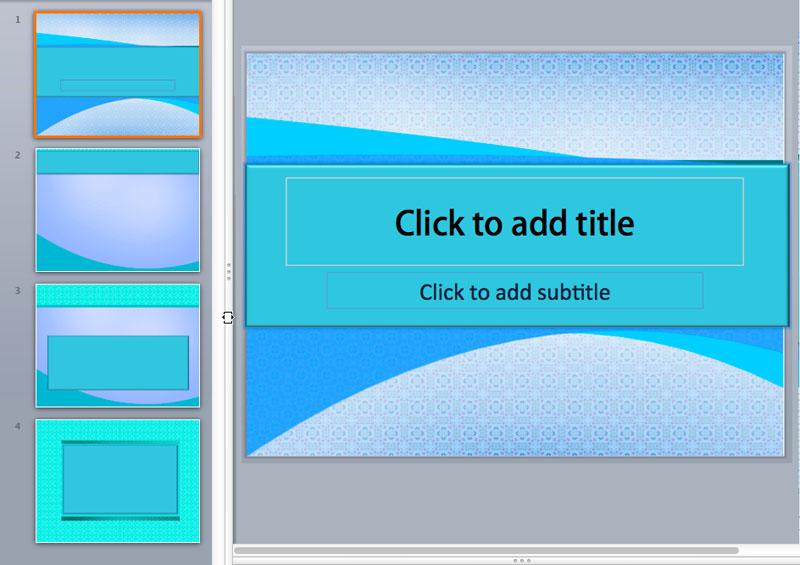 Textured PowerPoint Templates