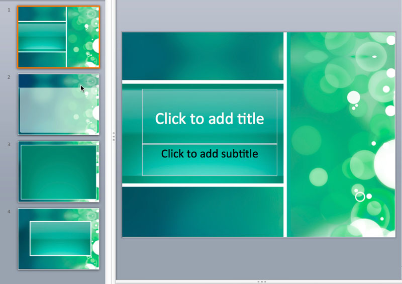 cool ppt templates
