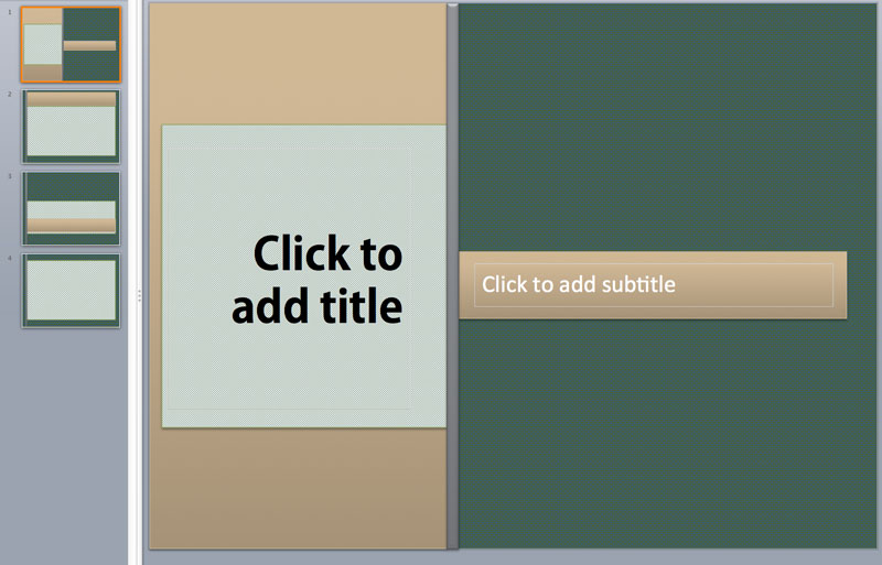gray powerpoint template