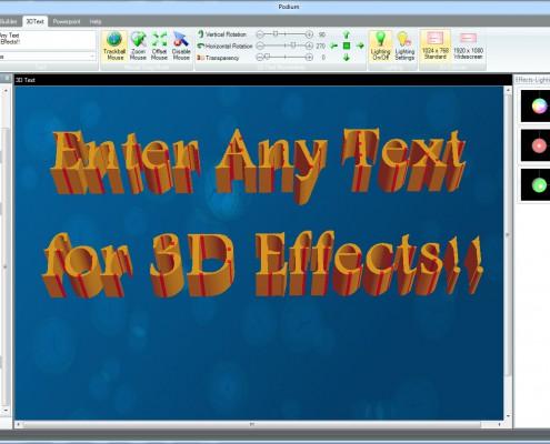 ppt 3d text plugin